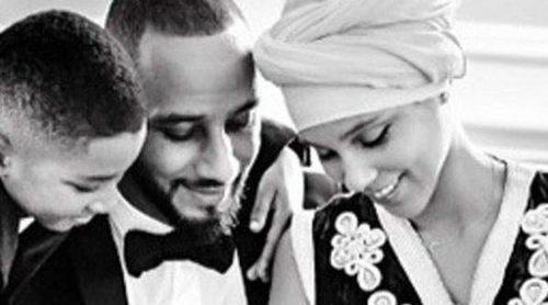 Alicia Keys y su marido Swizz Beatz presentan a su hijo Genesis Ali Dean