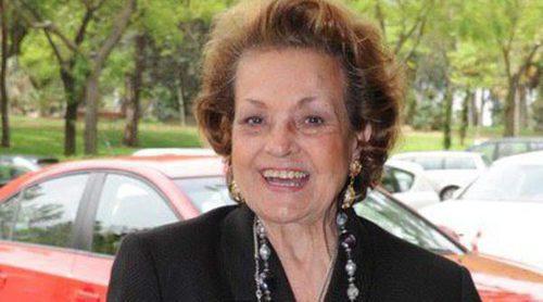 Carmen Sevilla, ingresada de urgencia por infección de orina y deshidratación