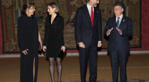 Carlos Vives pone a bailar a los Reyes Felipe y Letizia en la cena de gala en su honor organizada por el presidente de Colombia