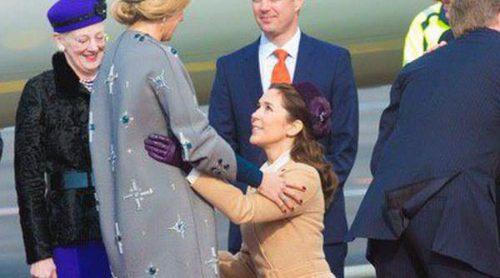 Guillermo Alejandro y Máxima de Holanda, agasajados con una cena de gala tras el 'Letizia' de Mary de Dinamarca