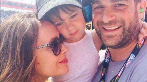 Alyssa Milano y Dave Bugliari, día en familia a toda velocidad con su hijo Milo