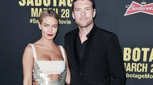El actor de 'Avatar' Sam Worthington y Lara Bingle se convierten en padres de un niño
