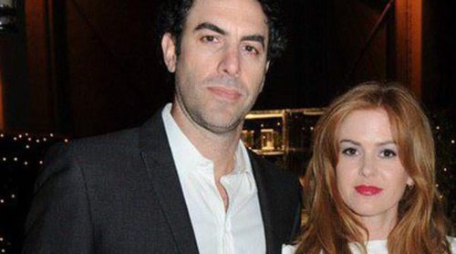 Sacha Baron Cohen e Isla Fisher han sido padres de su tercer hijo