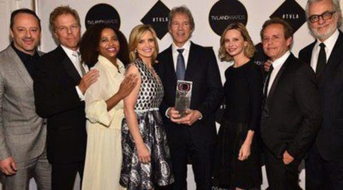Calista Flockhart y el resto del reparto de 'Ally McBeal' se reencuentran 13 años después del final de la serie