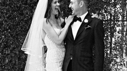 La foto de la boda de David Arquette y Christina McLarty
