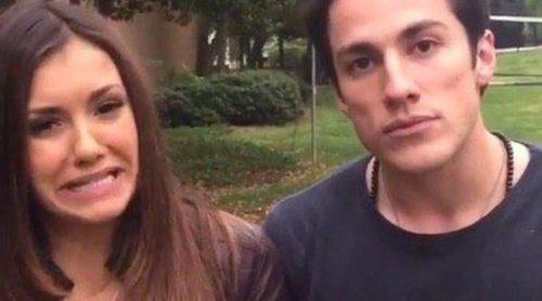 Nina Dobrev y Michael Trevino se despiden de 'Crónicas Vampíricas' entre risas y llantos