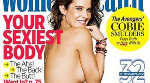 En portada: Cobie Smulders presume de cuerpazo en topless