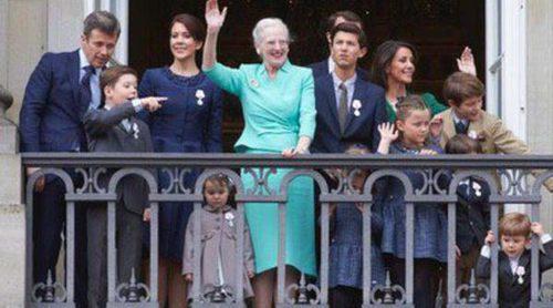 Así han sido las celebraciones del 75 cumpleaños de Margarita de Dinamarca, la última 'cumbre de royals'
