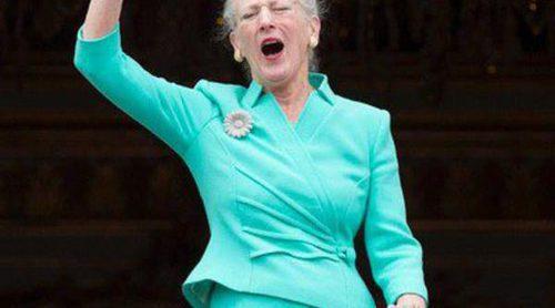 El desplante de los 'primos' Windsor y Grimaldi a Margarita de Dinamarca en su 75 cumpleaños