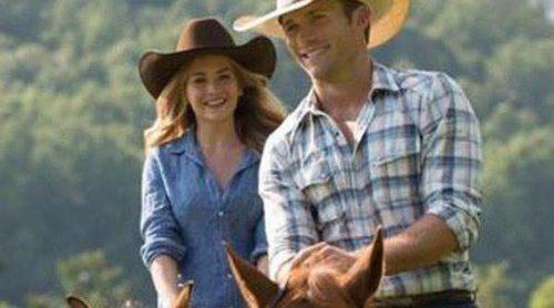 Scott Eastwood enseña a montar a Britt Robertson en el clip en primicia de 'El viaje más largo'