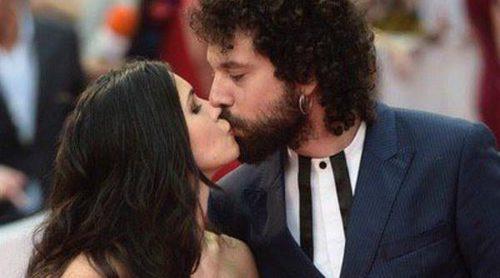 Nerea Barros y Juan Ibáñez emulan a Risto Mejide y Carla Nieto con un beso de película en el Festival de Málaga