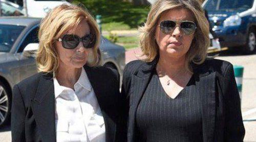 Mariló Montero, Ana Rosa Quintana, Terelu Campos,...la comunicación asiste a la capilla ardiente de Jesús Hermida