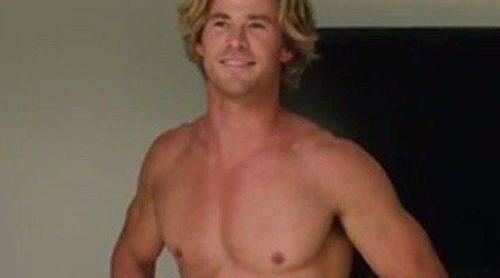 Chris Hemsworth muestra con orgullo sus atributos físicos más íntimos en el tráiler de 'Vacation'