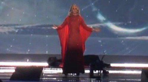 Edurne se estrena en Viena con su primer ensayo para Eurovision 2015