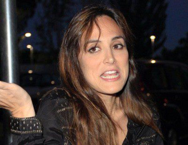 La polic a y la prensa aguan la fiesta a tamara falc en - Restaurante tamara madrid ...