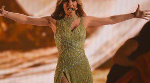 Así ha sido la actuación de Edurne en Eurovisión 2015 con 'Amanecer': Lágrimas y dos vestidos