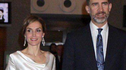 La Reina Letizia se une al Rey Felipe en la Comunión de sus sobrinos Gómez-Acebo antes de ir al Circo del Sol