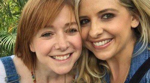 Sarah Michelle Gellar y Alyson Hannigan, reunidas para recordar 'Buffy Cazavampiros'