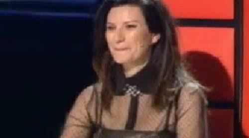 Laura Pausini, desatada en 'La Voz' con el invitado de la noche: