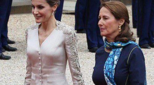 La Reina Letizia y Ségolène Royal, duelo de 'Primeras Damas' en el Viaje de Estado de los Reyes a Francia