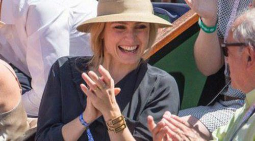 Julie Gayet se desata en Roland Garros tras ser humillada por François Hollande y Ségolène Royal