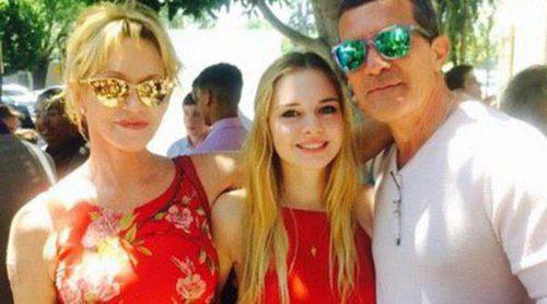 Stella del Carmen reúne de nuevo a sus padres Antonio Banderas y Melanie Griffith