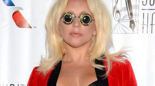 Lady Gaga olvida ponerse vestido para la gala de los Songwriters Hall Of Fame Awards 2015