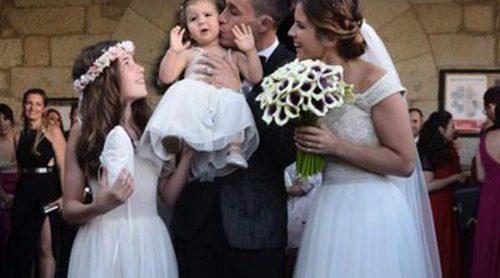 Las fotos de la boda de José Callejón y Marta Ponsati: mucho amor e invitados de altura para un enlace de ensueño