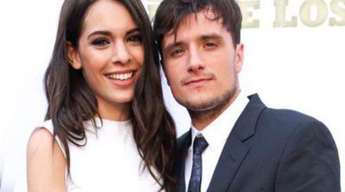 Claudia Traisac y Josh Hutcherson, una pareja de cine en el estreno de 'Escobar: Paraíso Perdido' en Los Angeles