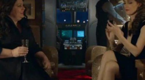 Melissa McCarthy y Rose Byrne protagonizan una tensa conversación en un clip exclusivo de 'Espías'