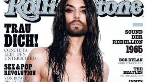 Conchita Wurst posa en topless para la revista Rolling Stone