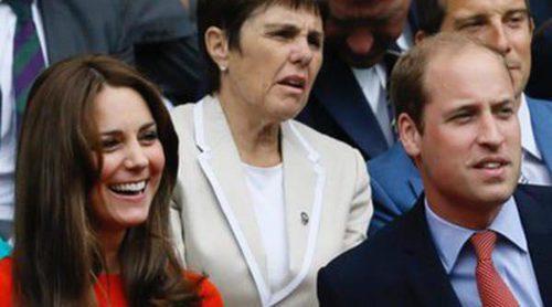El Príncipe Guillermo y Kate Middleton, David Beckham y Bradley Cooper disfrutan del tenis en Wimbledon