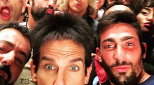 Ben Stiller, Penélope Cruz y Owen Wilson celebran el final del rodaje de 'Zoolander 2' con un multitudinario selfie