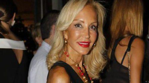 Carmen y Rafa Lomana, juntos pero no revueltos en la fiesta de cumpleaños de Nacho Montes