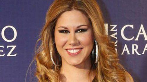 La cantante Tamara, madre por cuarta vez de un niño llamado Héctor junto a su marido Daniel Roque
