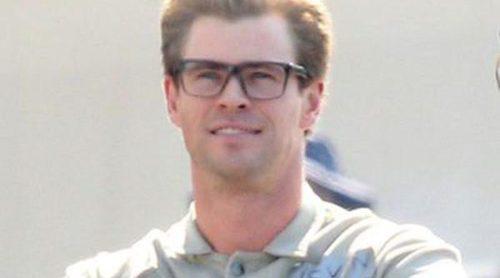Chris Hemsworth, hecho todo un 'cazafantasma' en el rodaje de la película en Boston