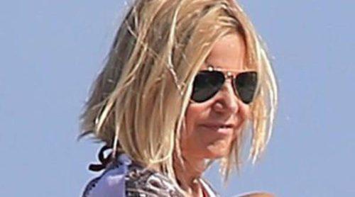 Eugenia Martínez de Irujo, la felicidad de una mujer enamorada a bordo de un yate en Ibiza