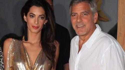 George Clooney y Amal Alamuddin conquistan la noche de Ibiza: amor y complicidad bañada en tequila