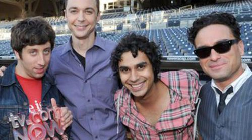 Jim Parsons, Johnny Galecki, Kunal Nayyar y Simon Helberg, los actores de televisión mejor pagados del año
