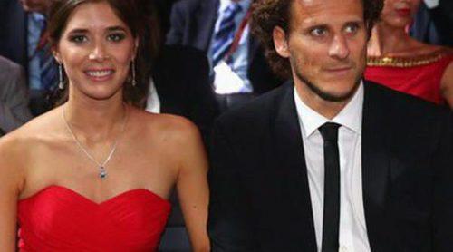 Diego Forlán y su mujer Paz Cardoso están esperando su primer hijo