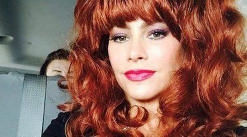 Sofía Vergara se disfraza de Peggy Bundy, la anterior mujer en la ficción de su marido en 'Modern Family' Ed O'Neill