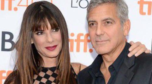 Reencuentro 'Gravity': La complicidad de Sandra Bullock y George Clooney en el Festival de Cine de Toronto