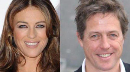 Liz Hurley y Hugh Grant: dos ex bien avenidos