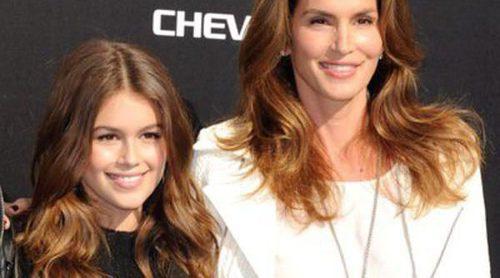 La hija de Cindy Crawford, Kaia Gerber, debuta como modelo en la Nueva York Fashion Week