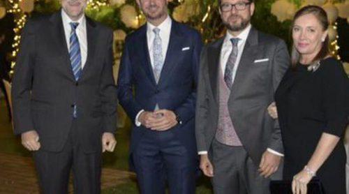 Javier Maroto y Josema Rodríguez se casan ante Mariano Rajoy y Elvira Fernández Balboa