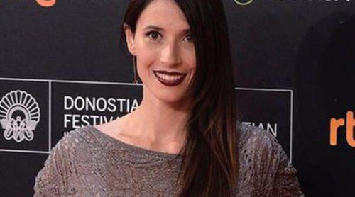 Bárbara Goenaga luce embarazo en la apertura del Festival de San Sebastián 2015 sin Borja Semper