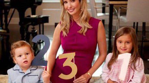 Ivanka Trump anuncia con sus hijos Arabella y Joseph que será madre por tercera vez