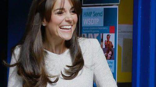 Kate Middleton sorprende con una visita inesperada a una cárcel de mujeres