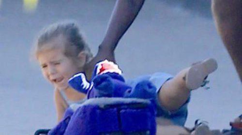 El accidente de Penelope Disick con la puerta de un coche durante un paseo con Kourtney Kardashian