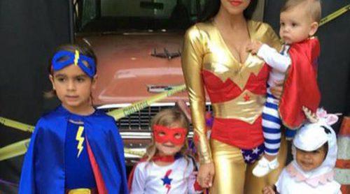 Kourtney Kardashian, una supermamá junto a sus hijos y su sobrina North West
